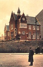 The old Bluecoat School on Mansfield Road, Nottingham