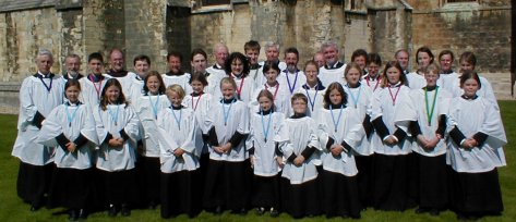 The Choir of St Peter's Church, Nottingham at Chichester Cathedral