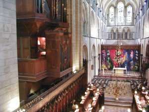 The Quire and Sanctuary of Chichester Cathedral