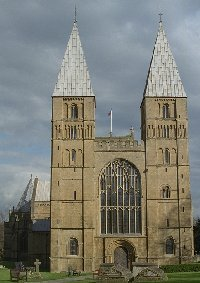 West end of Southwell Minster